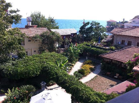 Hotel Lale Park: Utsikt över hotellet och havet