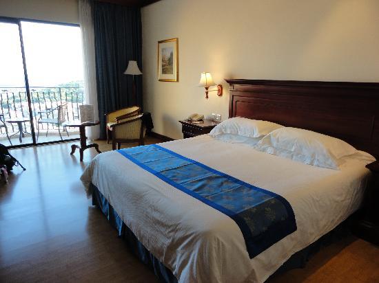 Grand Hotel Gozo: Sea view room