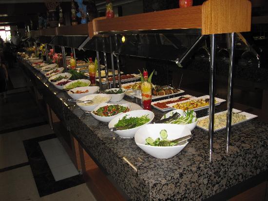 Side Mare Resort & Spa: Buffet