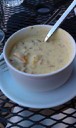 Linn Street Cafe: delicious seasonal soup!