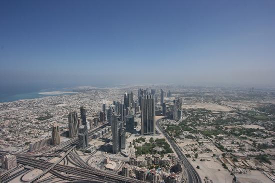 เบิร์จคาลิฟา: Dubai dall'alto