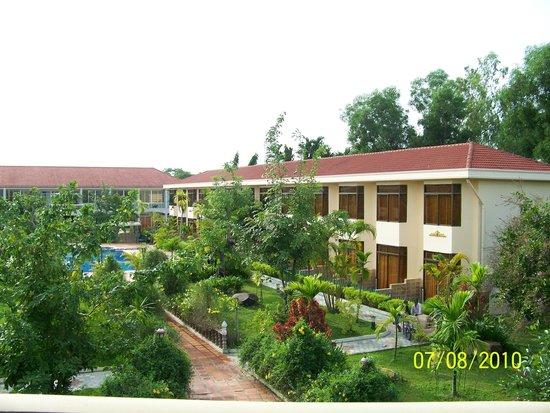 Hibiscus Angkor Resort : Hotel view