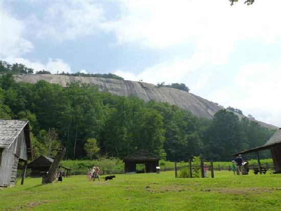 Hutchinson House: view of Stone Mt