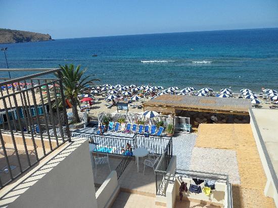 Saline Hotel : veduta da stanza con mare