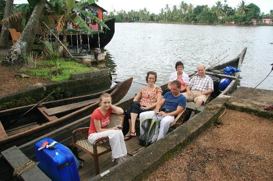 Nelpura Heritage Homestay: unsere Gruppe wurde abgeholt
