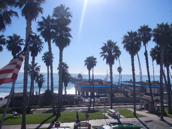 Casa Tropicana: Great view from your balcony!