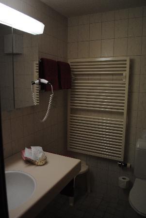 Hotel Alpenland Lauenen: bathroom