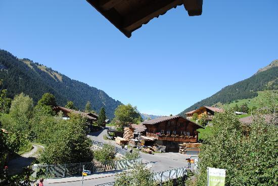 Hotel Alpenland Lauenen: balcony view