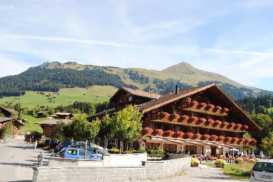 Hotel Alpenland Lauenen: the hotel