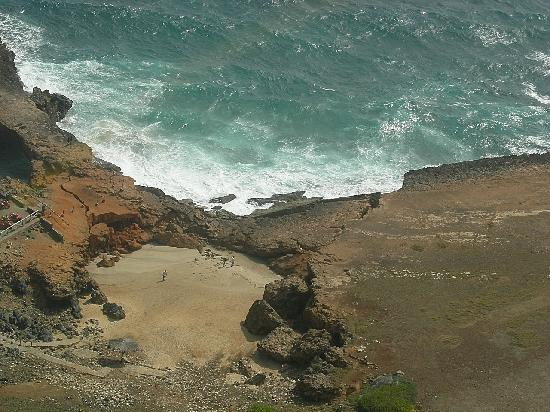 Aruba: Natural Bridge collapsed