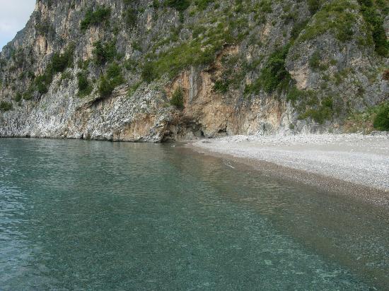 Hotel Torre Oliva: spiaggia dei gabbiani