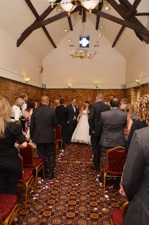 Birdlip, UK: the ceremony room
