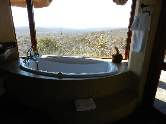 Nedile Lodge: this is also the view we had from our bed
