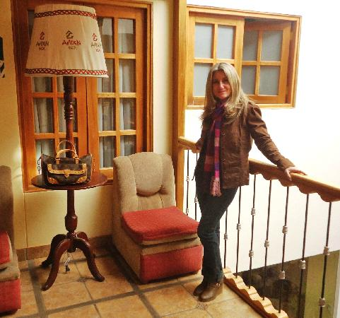 Anden Inca Hotel: Hall externo segundo piso.