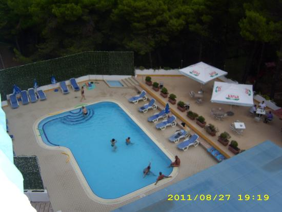 Hotel Pula: the pool