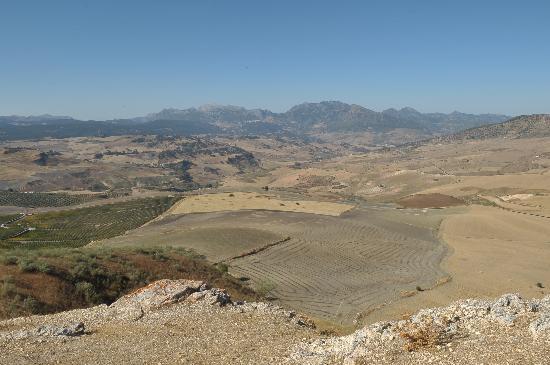 Ciudad romana de Acinipo: The View from the hill