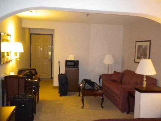 Quality Inn Grand Suites: Room 225
