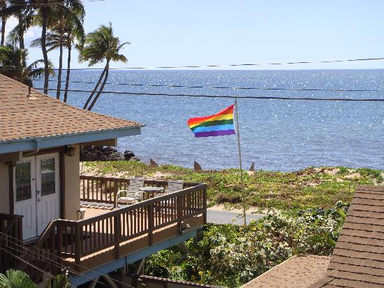 Maui Sunseeker LGBT Resort: View from the hot tub terrace