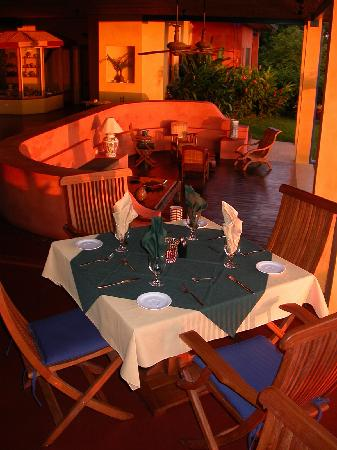 Hotel Luna Azul: Your dinner table