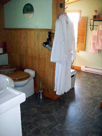 Gite a la Chute : La grande salle de bain