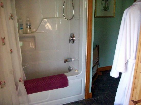 Gite a la Chute : avec bain et douche