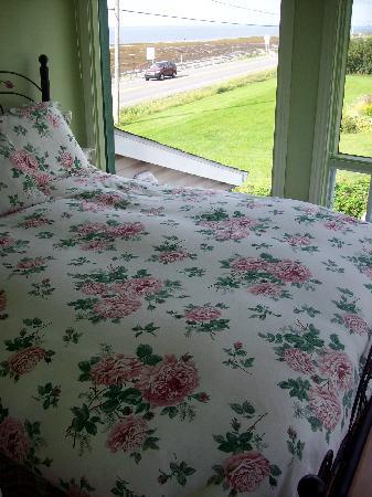 Gite a la Chute : La chambre à coucher
