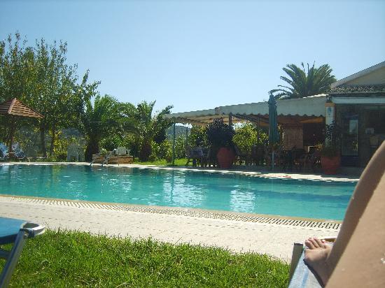 Joanna Hotel Apartments: the pool area