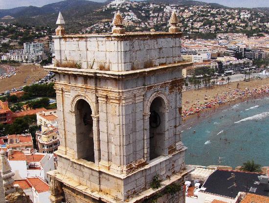 Montemar Natura Resort: Vistas desde la torre del castillo Papa luna