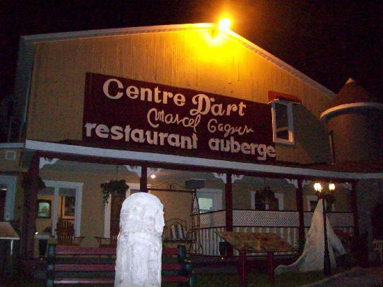 restaurant auberge du centre d'art marcel gagnon: Le Centre d'Art Marcel Gagnon, Sainte-Flavie