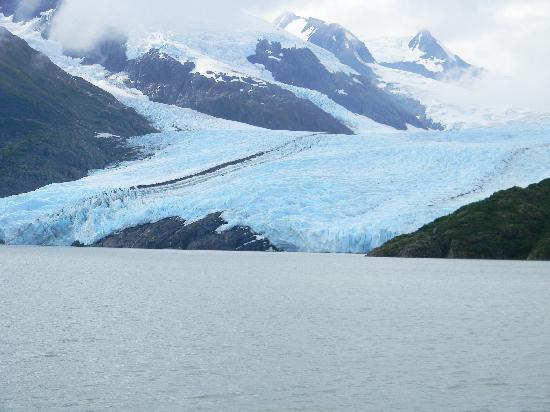 Approaching Portage Glacier