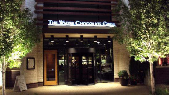 entry to White Chocolate Grill - Picture of The White Chocolate ...