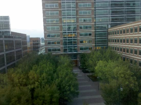 Georgia Tech Hotel and Conference Center: The view from the 5th floor