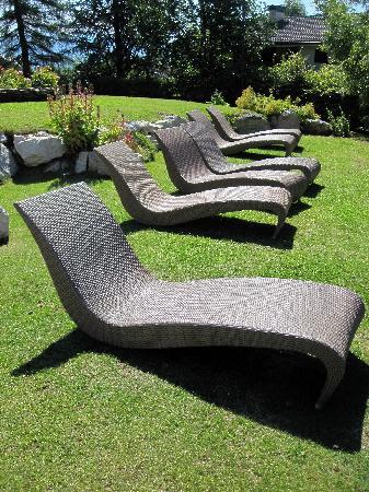 Alp & Wellness Sport Hotel Panorama: giardino