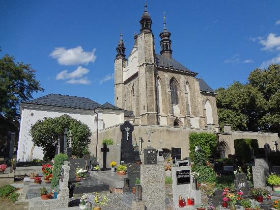 Ossuary / The Cemetery Church: The Ossuary is surrounded by a cemetery