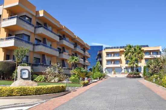 Hotel Spa Galatea: Fechada exterior