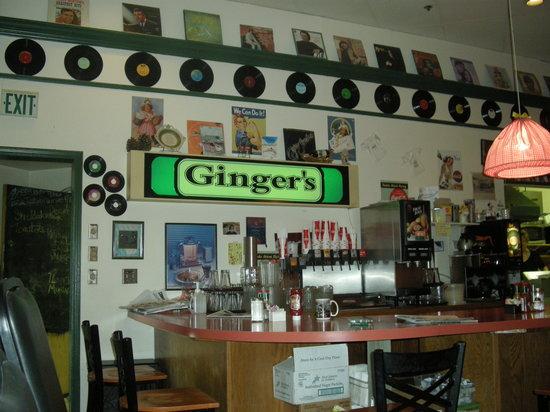 Ginger's inside