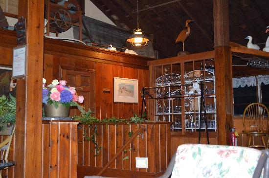 Lighthouse Inn: The bar area, was in need of an update