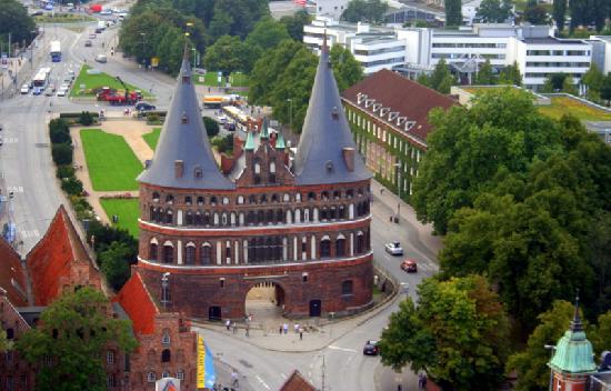 Hotel Wakenitzblick-Garni: Holstentor Lubeck