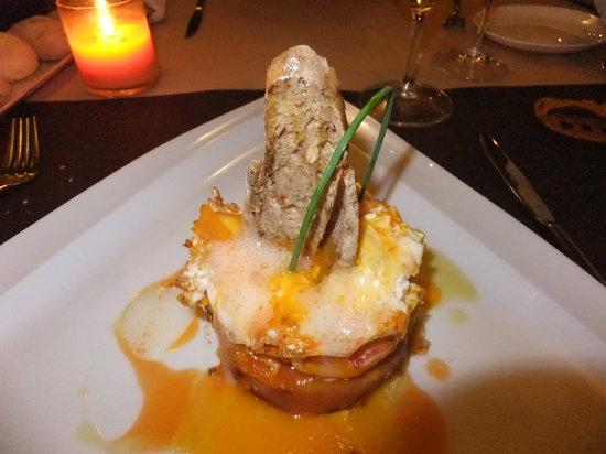 La morera : Huevos rotos con bogavante