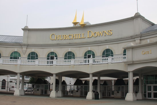 Louisville, KY: Churchill Downs Entrance