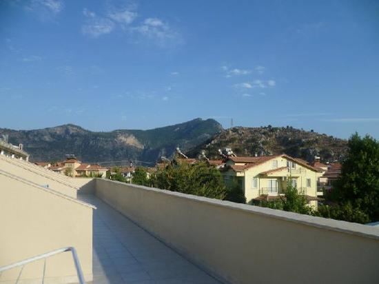 Binlik Hotel: Front balcony view