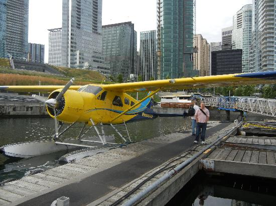 L'Hermitage Hotel: Seaplanes bound for Victoria & other islands.