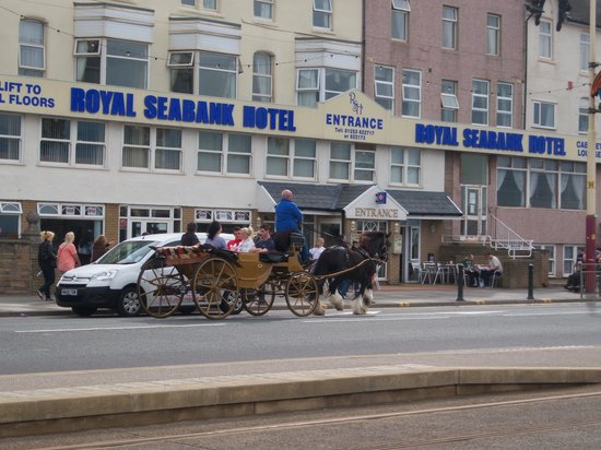 Royal Seabank Hotel : we found it to be an ideal location