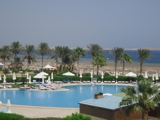Baron Resort Sharm El Sheikh: view from balcony
