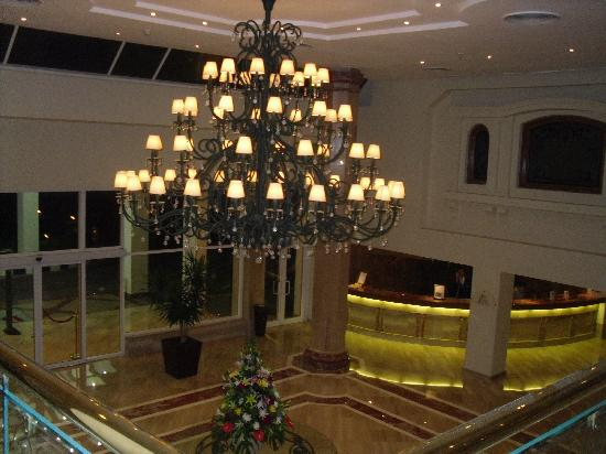 Baron Resort Sharm El Sheikh: hotel reception