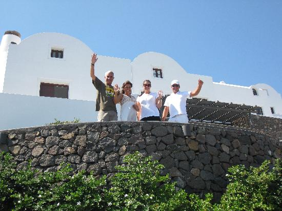 The Wonderful Team at Aenaon Villas