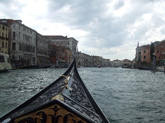 Canal Grande: ゴンドラからの眺め