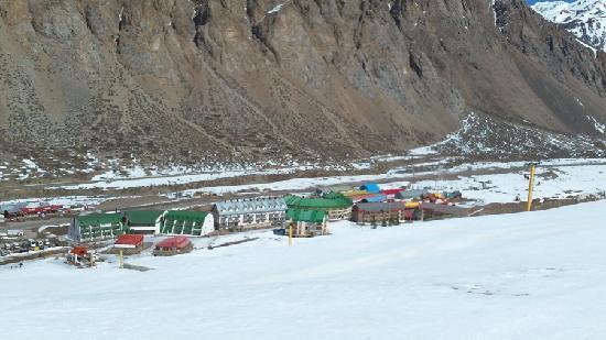 Los Penitentes, Argentina: vista de la base centro ski penitentes