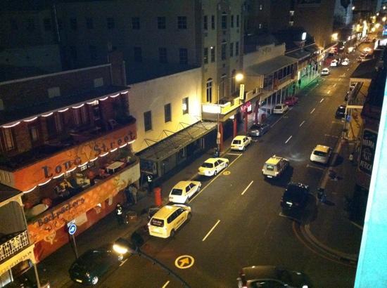 Urban Chic Boutique Hotel: Vista da varanda do quarto 403.