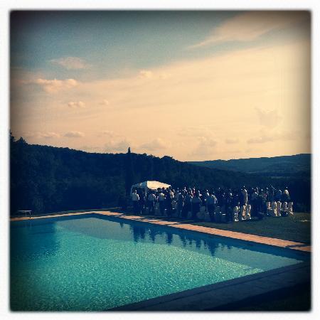 Castello di Modanella: Wedding setting